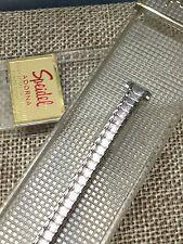 8mm SPEIDEL  TWIST O FLEX USA STAINLESS STEEL SILVER STRETCH BRACELET WATCH BAND