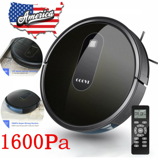 Smart Robot Vacuum Cleaner Mop Strong Suction Rumba Robotic sweep Auto Cleaner