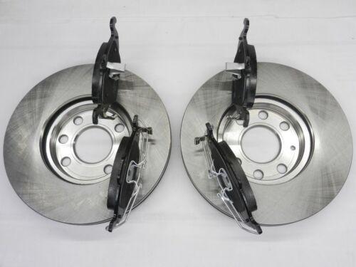 Bremsscheiben 4-Loch Bremsbeläge vorne für Opel Astra G Kombi 1,2 1,4 1,6 1,7 D