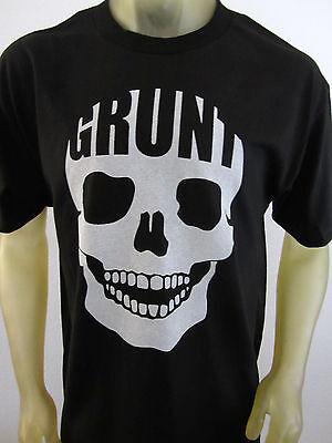 Grunt Company Infantry Skull men's black tee shirt Guns USA USMC Deadly XL