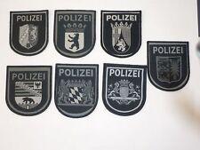 Abzeichen Patch Polizei 7 Bundesländer SEK MEK BFE Spezialeinheit subdued tarn