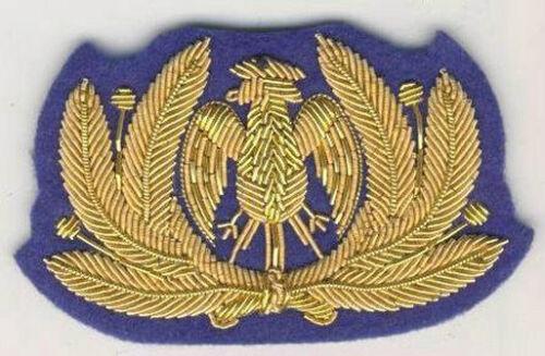 Riproduzione Fregio da berretto dell/' Aeronautica Nazionale Repubblicana S039