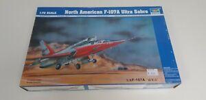 JJ-NORTH-AMERICA-F-107A-ULTRA-SABRE-1-72-TRUMPETER-NUEVO-A-ESTRENAR-N1