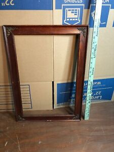 Vintage-Wooden-Picture-Frame-Fits-12-3-4-by-19-1-4-Painting
