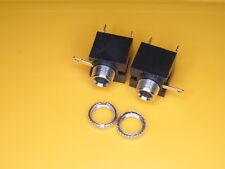 AUX 3,5 ,Klinkenbuchse, löten, Einbaubuchse Audio, Klinke 3,5mm, 3 Pin, 2 Stück