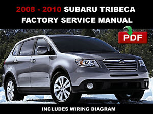 # OFFICIAL WORKSHOP Service Repair MANUAL for SUBARU TRIBECA 2005-2014 #