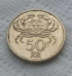 50 kronur coin