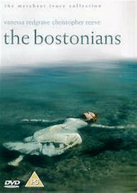 THE BOSTONIANS VANESSA REDGRAVE CHRISTOPHER REEVE MERCHANT IVORY UK R2 DVD L NEW