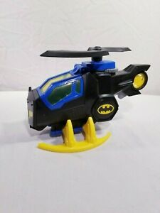 IMAGINEXT 2008 DC SUPER FRIENDS BATCOPTER SET WITH BATMAN FIGURE