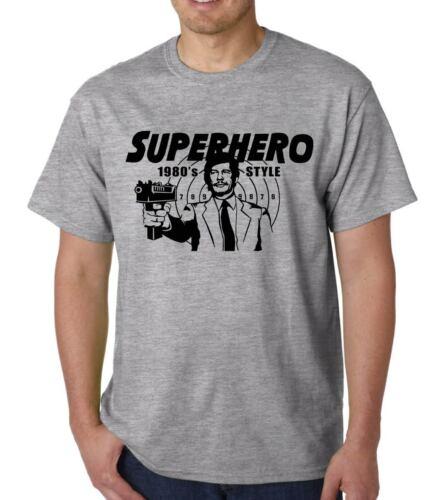 Bronson Superhero 1980/'s Style t-shirt DEATHWISH B-MOVIE FUNNY GEEK QUOTE 70/'s