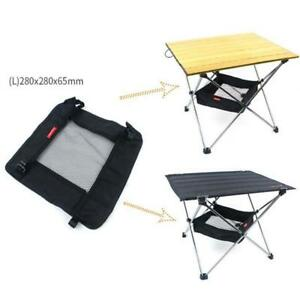 Folding-Table-Storage-Net-Picnic-Table-Hanging-Net-Grid-Outdoor-Camping-Bag-YW