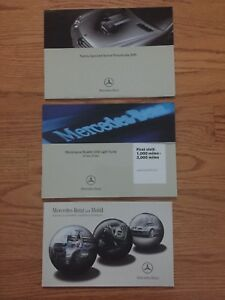 2016 Mercedes Benz E Class Sedan Wagon Owners Operators Owner Manual Set Oem