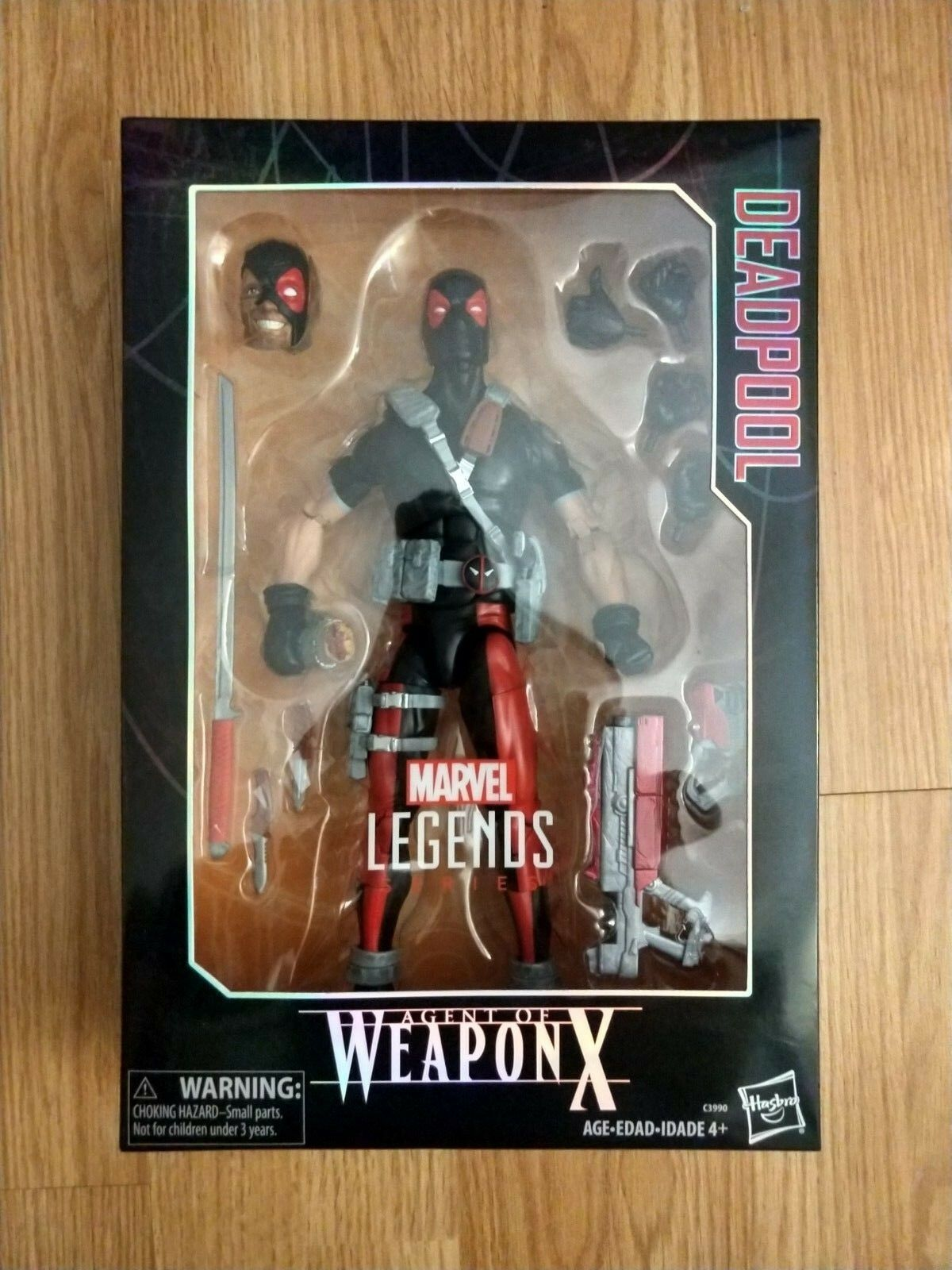 Marvel Legends DEADPOOL Series 12 inch Figure - Agent Agent Agent of Weapon X 43998c