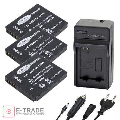 CGA-S//106C Bater/ía para Panasonic DMW-BCF10 E