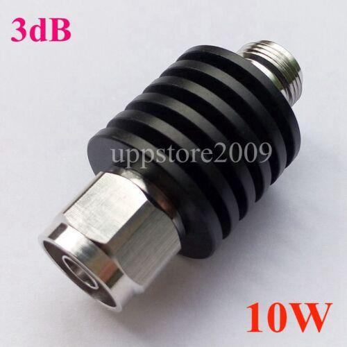 50 OHM 10W 3db3GHz RF Coaxial Attenuator free shipping