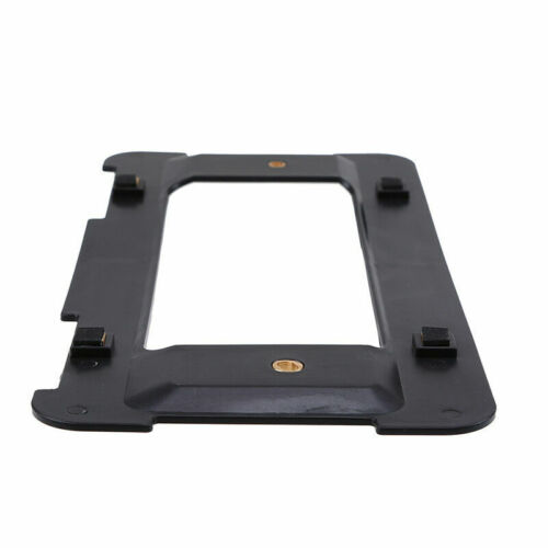 UNIVERSAL LICENSE PLATE TAG HOLDER MOUNTING RELOCATOR ADAPTER BUMPER KIT BRACKET