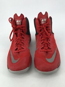 new arrival e9de9 46d4a Details about Nike Prime Hype DF II Men's Basketball Red Shoe 806941 600  Size 11.5