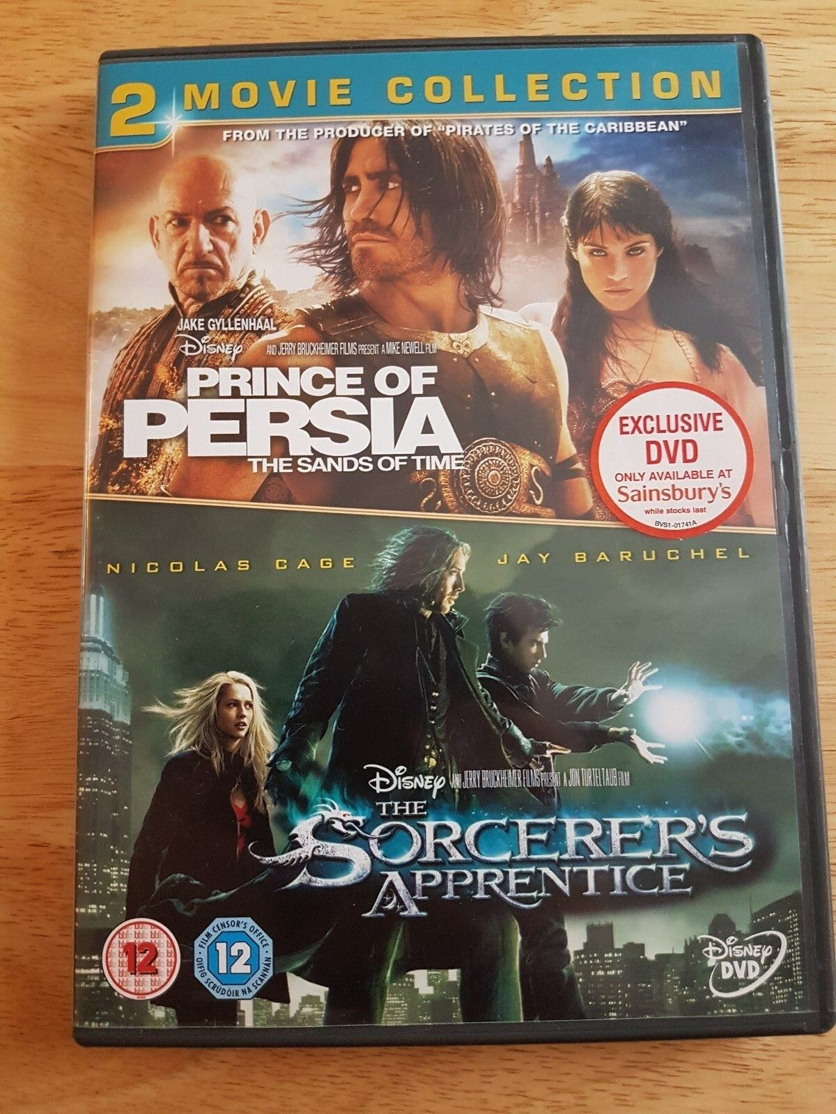 Ref 62 Disneys Prince Of Persia The Sands Of Time Sorcerer S Apprentice Dvd For Sale