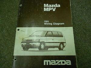 image is loading 1991-mazda-mpv-van-electrical-wiring-diagram-service-