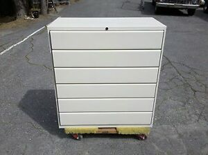 Image Is Loading Card File Cabinet 6 Drawer Lateral 36 034