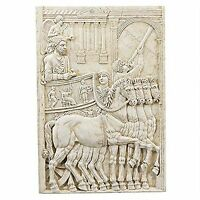 The Roman Triumph Of Marcus Aurelius Elegant Chariot Muscular Horses Wall Frieze