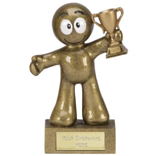 Morph Style Childs enfants Trophée vainqueur Bravo Award gravé trophées