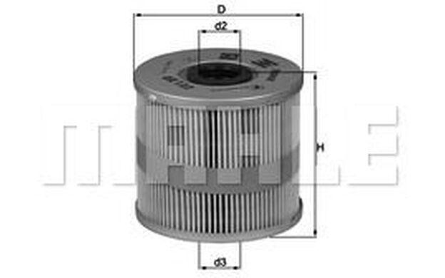 KNECHT Filtro de aceite AUDI A8 OX 122D