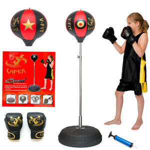 Viper-Boxing-Punch-Ball-Adjustable-Free-Standing-Children-Punching-Speed-ball