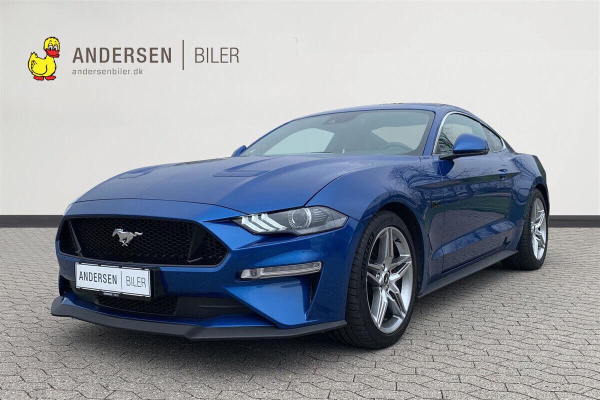 Ford Mustang 5,0 V8 GT Fastback aut. 2d - 699.900 kr.