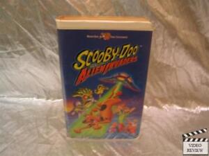 scooby doo and the alien invaders 2000 vhs