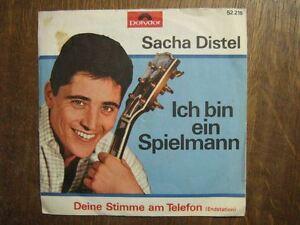 SACHA-DISTEL-45-TOURS-GERMANY-ICH-BIN-EIN-SPIELMANN