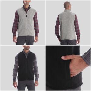 Men-039-s-Wrangler-Outdoor-Fleece-Vest-Gilet-Jacket-in-Grey-or-Black-RRP-22-99