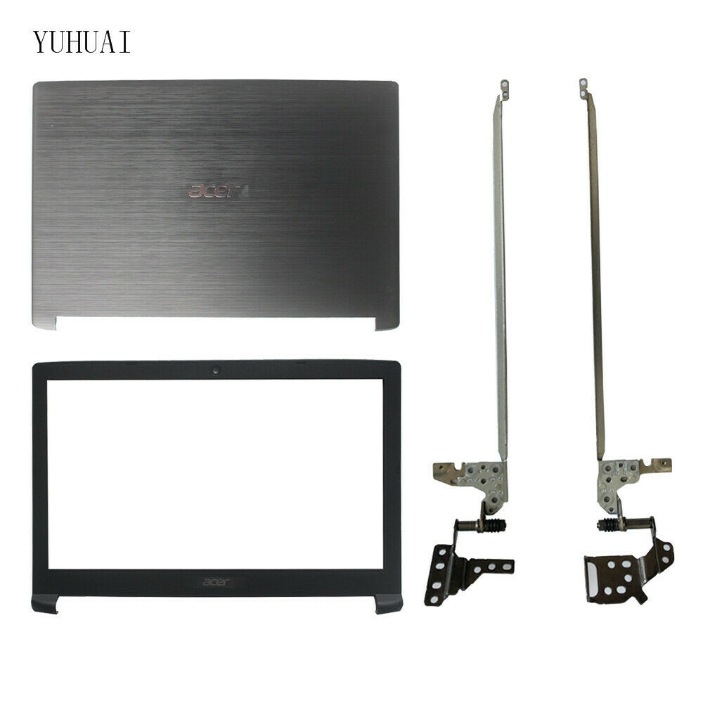 FOR Acer Aspire 3 A315-41 A315-41G LCD Back Cover Black Screen Bezel cover Hinge