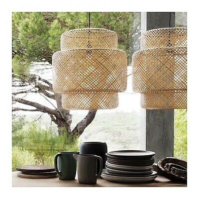 Ikea Sinnerlig Pendant lamp, bamboo by Ilse Crawford 703.150.30