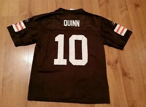 pretty nice 55cfc e4d37 Details about Brady Quinn Cleveland Browns Jersey Youth Large Boys Reebok  Vintage #10 NFL