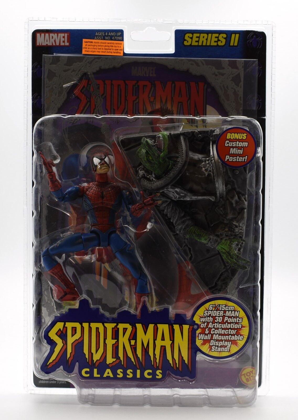 Spider-man Classics Series II (lámina) - Batalla devastado Hombre Araña Figura De Acción