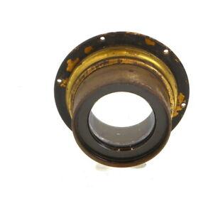 Vintage-Carl-Zeiss-Jena-Apochromat-Tessar-46cm-f-10-X2-Brass-Barrel-Lens-UG