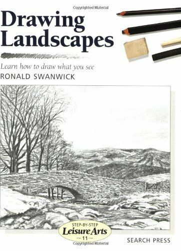 1 of 1 - Drawing Landscapes (Leisure Arts) By Ronald Swanwick