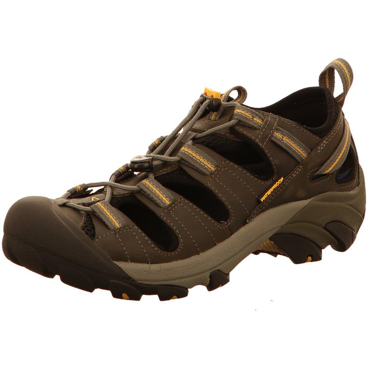 Keen Herren Offene Arroyo II Sneaker 1002426GARGOYLE braun 461732