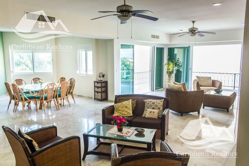 Departamento en venta en isla dorada Cancún/Isla Diamante