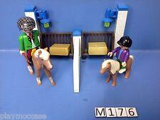 (M176) playmobil complément poney ranch 4190