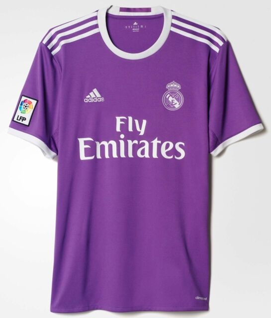 bb9e88e63fd adidas Real Madrid Official 2016 2017 Away Soccer Football Jersey M ...