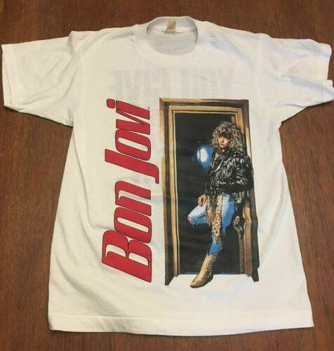 BON JOVI 1992 T SHIRT 2 Sided YOU GIVE LOVE A BAD NAME Tour