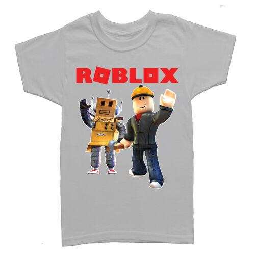 Roblox Builders Children Gamers Kids Boys Girls T Shirt-URB102