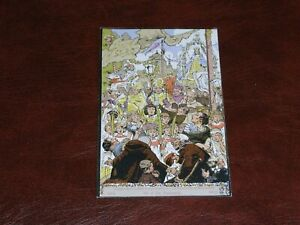 ORIGINAL-ART-NOUVEAU-SIGNED-POSTCARD-PROCESSION-1913