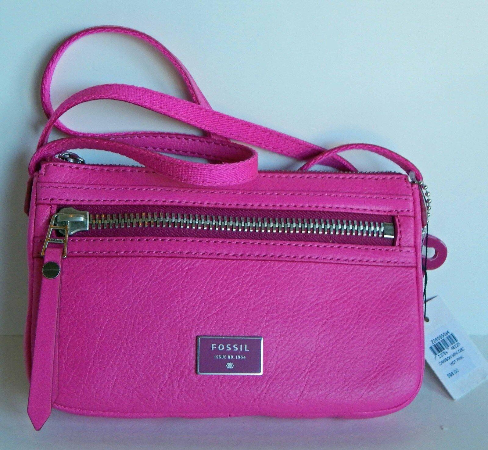 Fossil Dawson Crossbody Handbag Hot Pink Zb 6577694 Daftar Harga Multifunction Black Sl 6675001 Source Leather Shoulder Bag Zb6577694 Ebay
