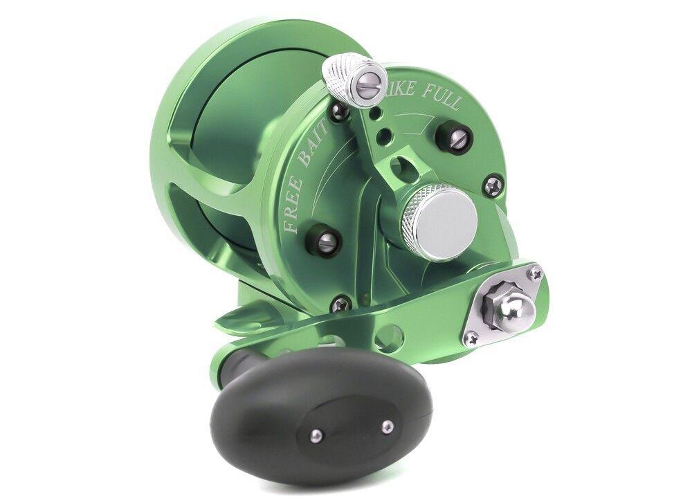 Avet MXL 5.8 MC Cast Single Speed Lever Drag Reel MXL5.8MC Right Hand - GREEN