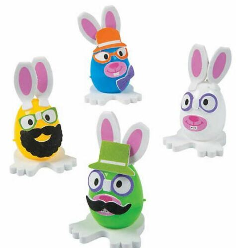 Easter Craft Kits for Kids All Supplies Besides Eggs included No messy glue!