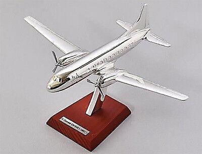 Convair CV-340-1951 12 Scale 1:200 PLANE AIRCRAFT ATLAS PLATED SILVER