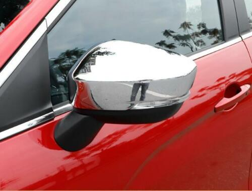 ABS Chrome Side Mirror Cover Trim 2pcs for Mitsubishi Eclipse Cross 2018